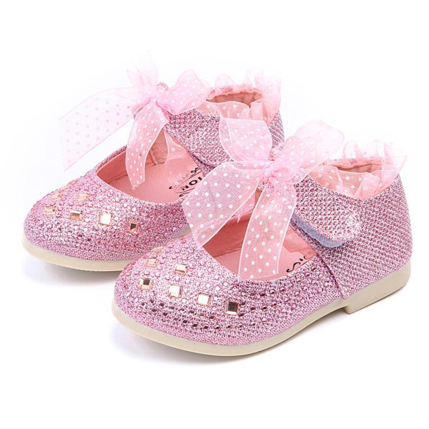 Fashion Children Shoes Kid Baby Girls Shoes Princess Flats Single Child  Lace Diamonds Leather Dancing Baby Boys Kids UK 2019 From Entent f01a1610e