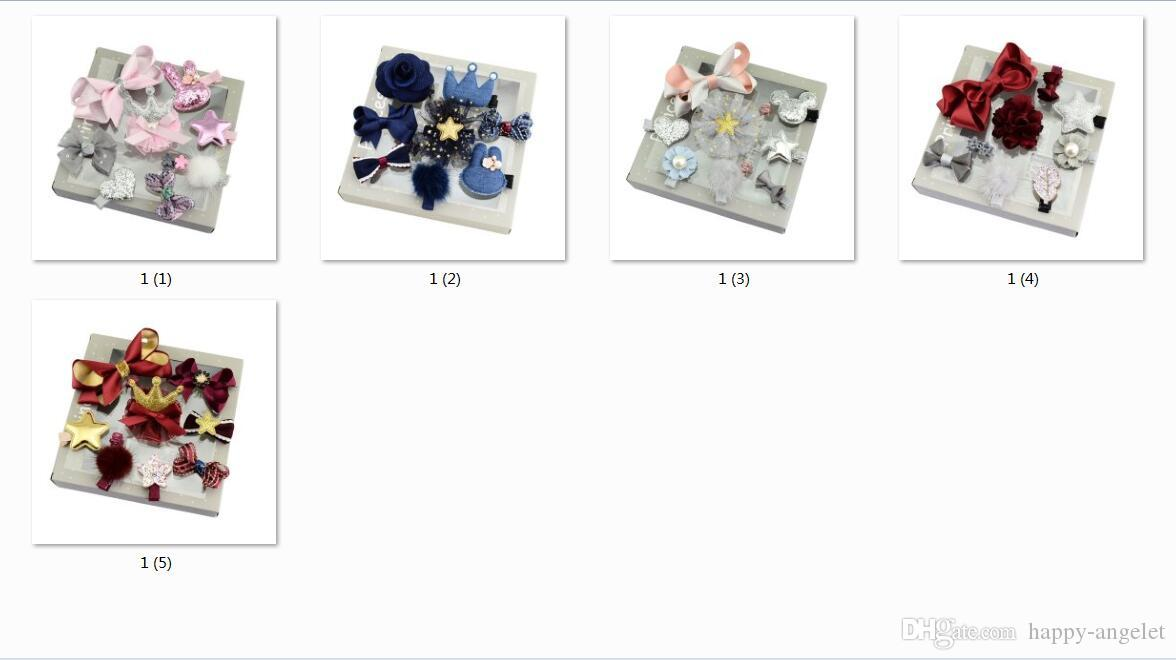854afeba04f New Design Girls Kids Lovely Hairclip Heart Star Bow Crown Fur Ball Flower  Print Ribbon Bow Hairpins Hair Accessory LH679 Hair Bands Bows Clips Baby  Child ...