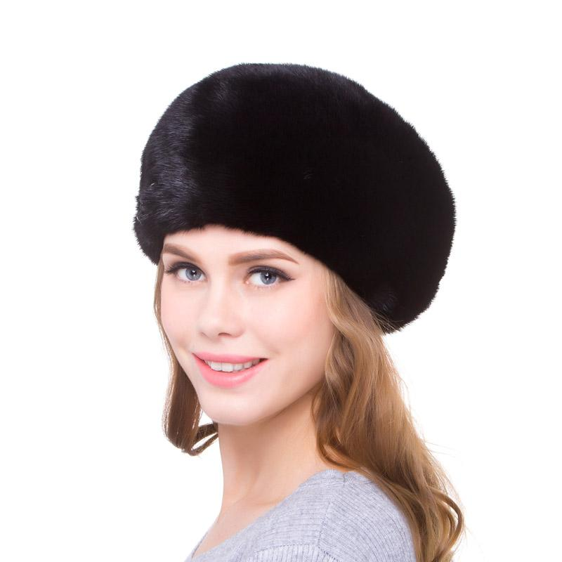 eafcffb5 2019 100%Natural Women's Hat Fashion Hat Women's Solid Cap Bomb Cap Warm  Earmuffs Discount 2018 Winter Hot DHY18 18 From Playnice, $179.88    DHgate.Com