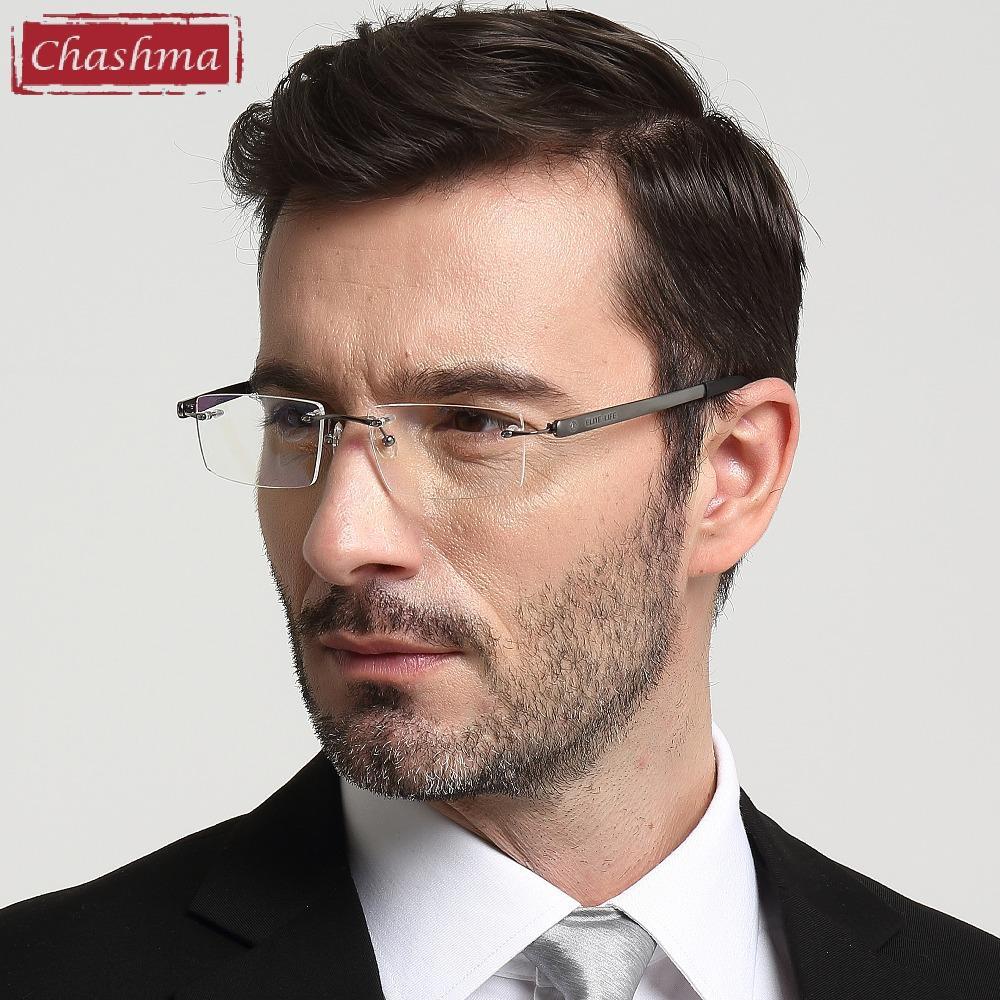 Chashma Top Quality Clear Lenses Eyeglasses Large Frames Men Optical ...