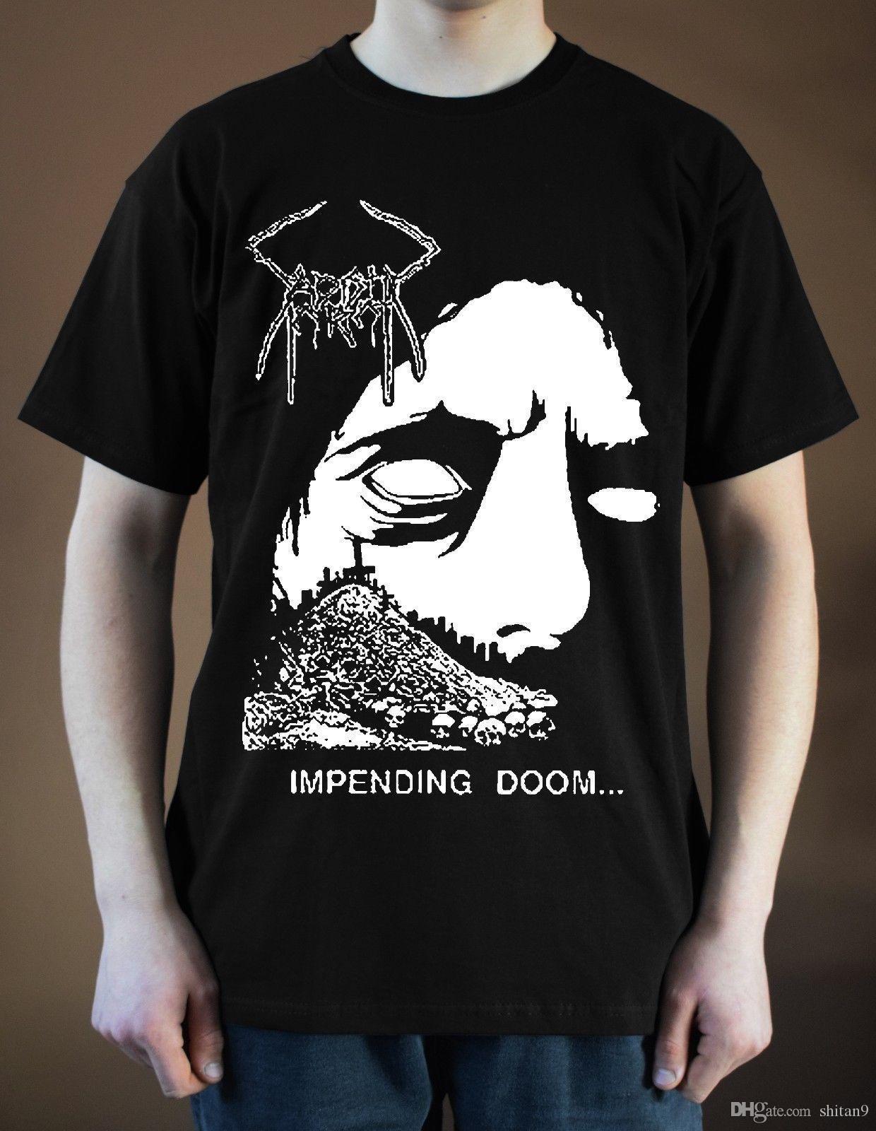 Sadistic Intent Impending Doom Ver 1 T Shirt Black Men T Shirt