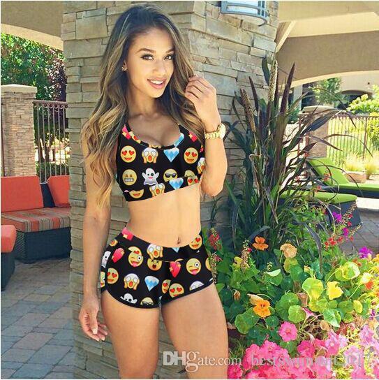 Compre Nueva Moda Bikinis Traje De Baño Para Mujeres Tankini 2018 CALIENTE  Barato Atractivo Brasileño Traje De Baño Mujer Bikini Conjunto Mujer Playa  Traje ... 72bb702611c3