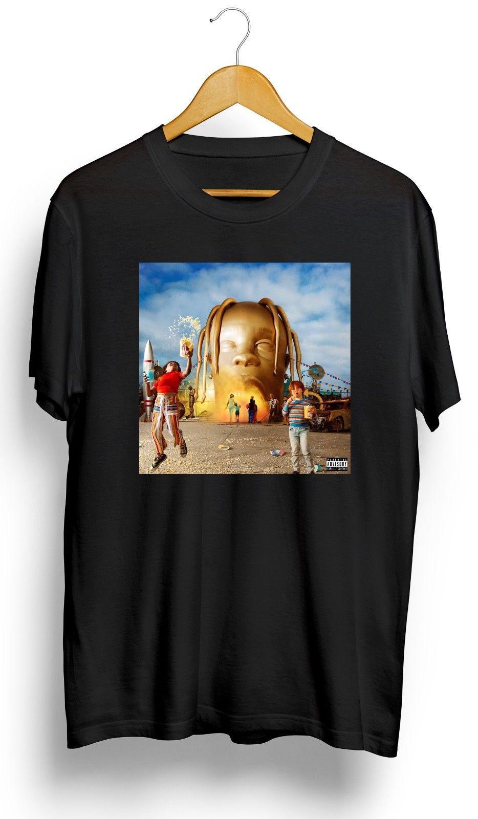 100Algodón Camiseta De ScottAstroworld Compre Travis nO8wvyPmN0