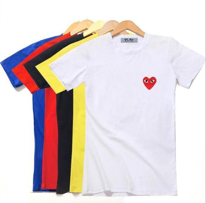 688b3230cb Acheter Marque De Luxe Logo Femmes T Shirt D'été CDG Tee Shirt Femme Femmes T  Shirt Crop Tops À Manches Courtes Designer Shirt Pour Femmes De $17.59 Du  ...