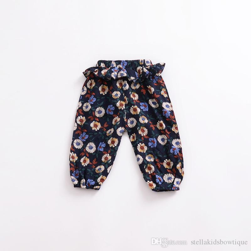 Summer Baby Boys Girls Harem Pants Hot Sales Toddler Girls Boys Casual Trouser Infant Cotton Baby Trousers Children Lantern Pants