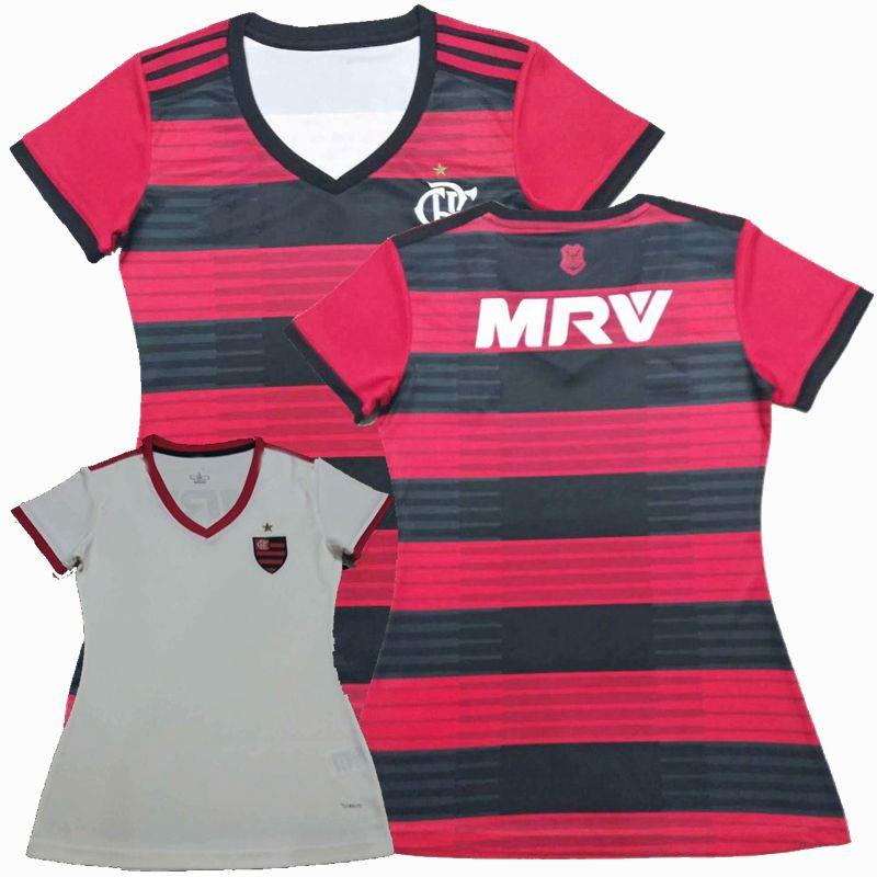 Compre New CR Flamengo 2018 2019 Camisa De Futebol 18 19 Longe De Casa  Camisa De Futebol GUERRERO DIEGO Camisa De Futebol Feminino VINICIUS JR S  XL De ... 193fed1f08334