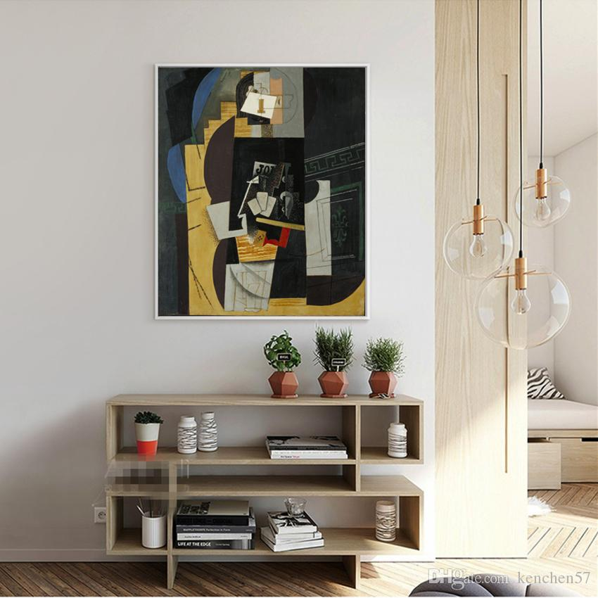 Picasso Abstra Oil Painting on Canvas HD Print Wall Art Picture Home Decor Modern Art Painting Unframed