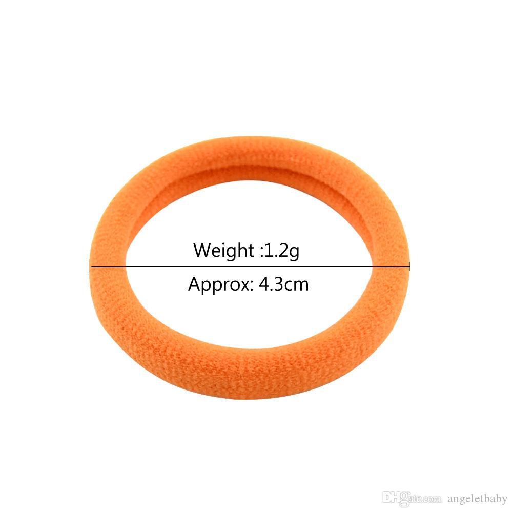 20 الألوان فرق عالية الجودة بوتيك الشريط مطاطا الشعر لطيف إكسسوارات الشعر للبنات FQ816