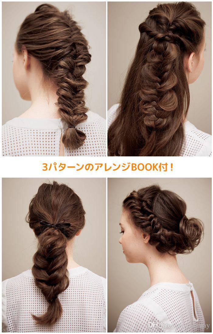 3 stili / set Magic Hair Clip Braider Stylist Coda Twist Treccia di capelli Treccia di capelli fai da te Accessori lo styling Roller Hair Braiding