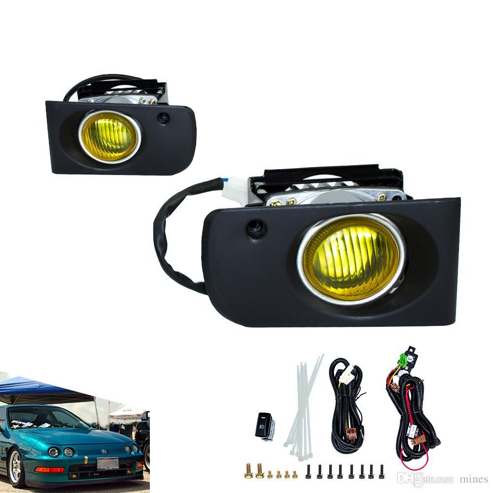 Fog Light For Honda Acura Integra Dc Jdm Fog Lamps Yellow - Acura integra fog lights