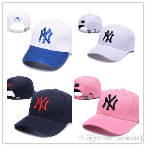 c8f460149d6 High Quality New 2018 HOT NY Adjustable Hats Sports Hats Baseball ...