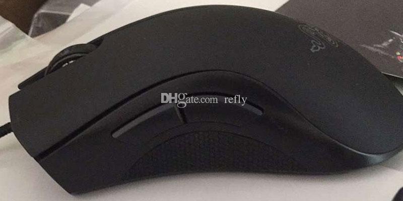 Razer Deathadder Chroma USB Com Fio Do Mouse 10000 dpi Óptico Computador Óptico Raming Gaming Razer Deathadder Gaming Ratos