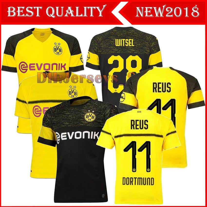 ... 2018 Thailand 18 19 BVB Borussia Dortmund Soccer Jersey 2019 PHILIPP  GOTZE REUS PULISIC WITSEL Jersey ... 7ffa82958