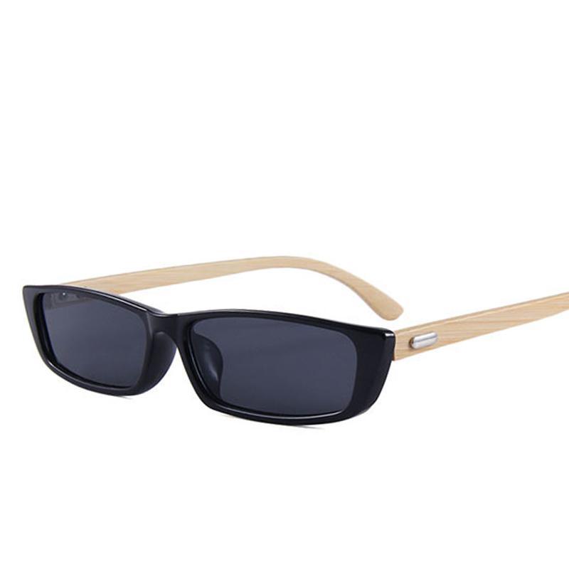 d62454649b Women Fashion Brand Top Sale Wood Sunglasses Square Classic Retro Black Sun  Glasses Shades Eyewear Bamboo Frame Uv400 Men Gafas Mirror Sunglasses Boots  ...