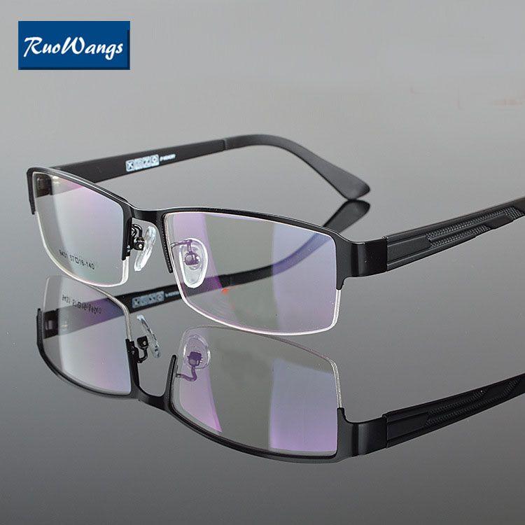 Compre Ruowangs Eyewear Hombres Anteojos Marco Mujeres Gafas Myopia ...
