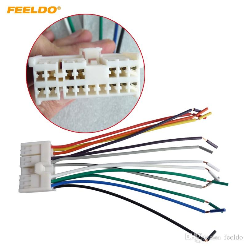 Brilliant 2019 Feeldo Car Audio Stereo Wiring Harness Adapter Plug For Hyundai Wiring 101 Capemaxxcnl