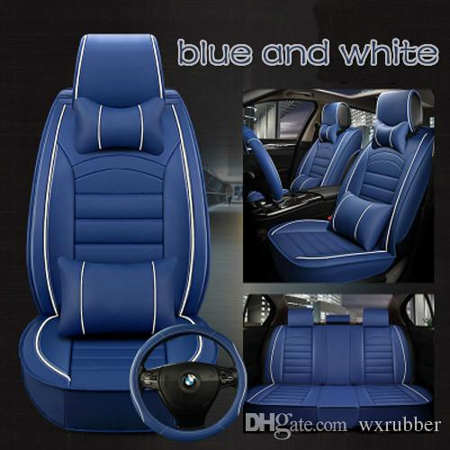 Full Set Car Seat Covers Universal Cover For Automobile Protector Styling Interior Accessorie Leather Seats Cars Truck