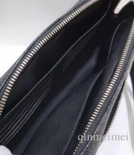 HOT SALE Damier Echtes Leder Kasai BAGS braun mono schwarz karo CANVAS Kulturbeutel Palm Handgelenke für Herren Handtaschen Frauen Handtasche m41663