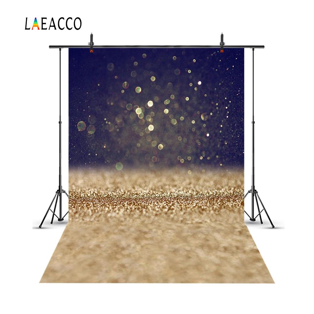 Laeacco Abstract Light Bokeh Gliers Baby Newborn Photography Backgrounds Customized Photographic Backdrops For Photo Studio