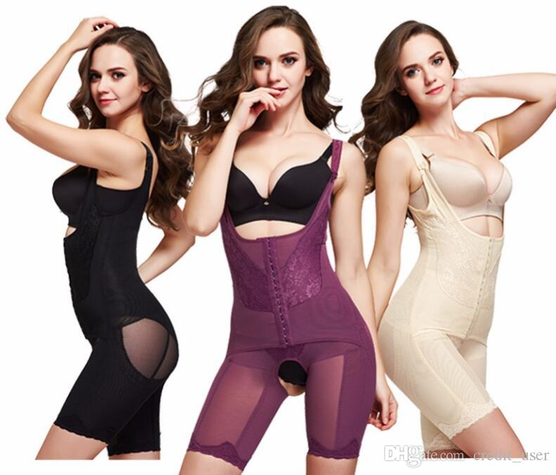 f226efa2cc353 Slimming Underwear Bodysuit Women Lingerie Waist Trainer Body Shaper ...
