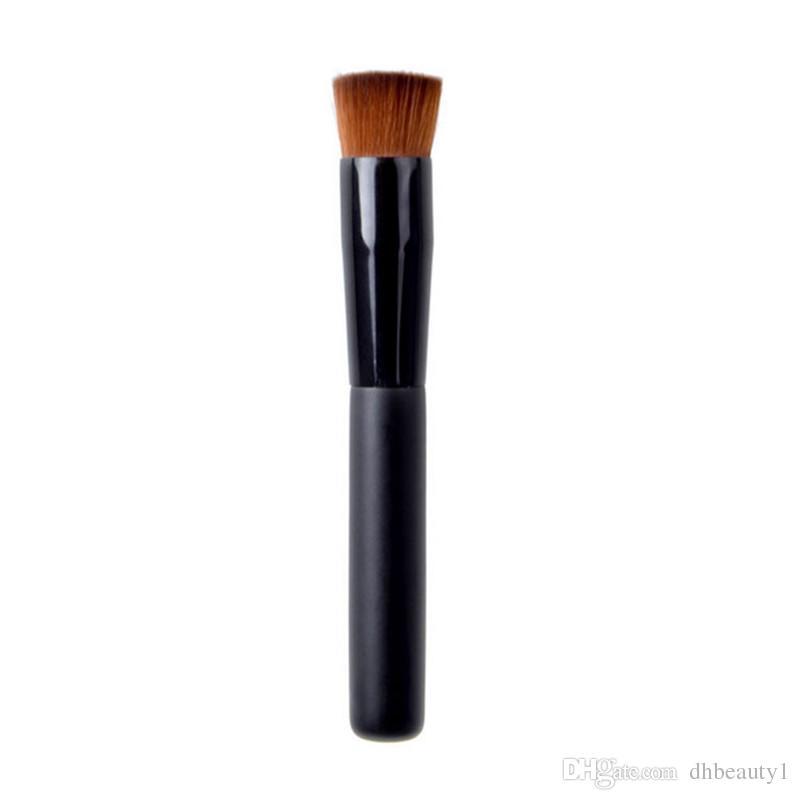 Top quality Large Flat Concave Perfecting Face Brush Multipurpose Liquid Foundation Brush Premium Face Makeup Brush