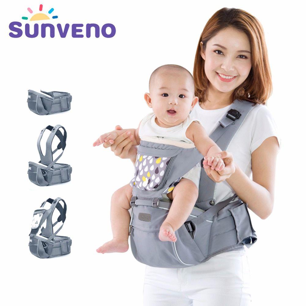 ea18ec715779 Acheter SUNVENO Designer Porte Bébé Infant Toddler Front Face Carrier Sling  Enfants Kangourou Hipseat Baby Care 0 36Mois De  64.71 Du Ferdimand    DHgate.Com