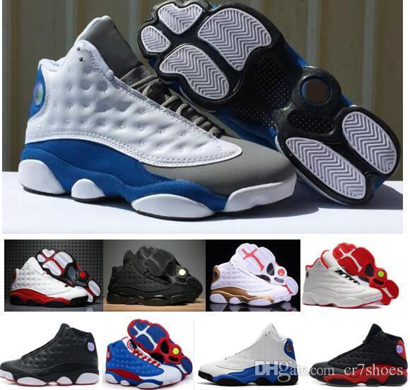 03ba497c221 NEW 13 13s Black Cat Hyper Royal Olive Wheat GS Bordeaux DMP Chicago Men Basketball  Shoes 13s Sports Sneakers Trainers Size 36-47 Basketball Shoes Shoes ...