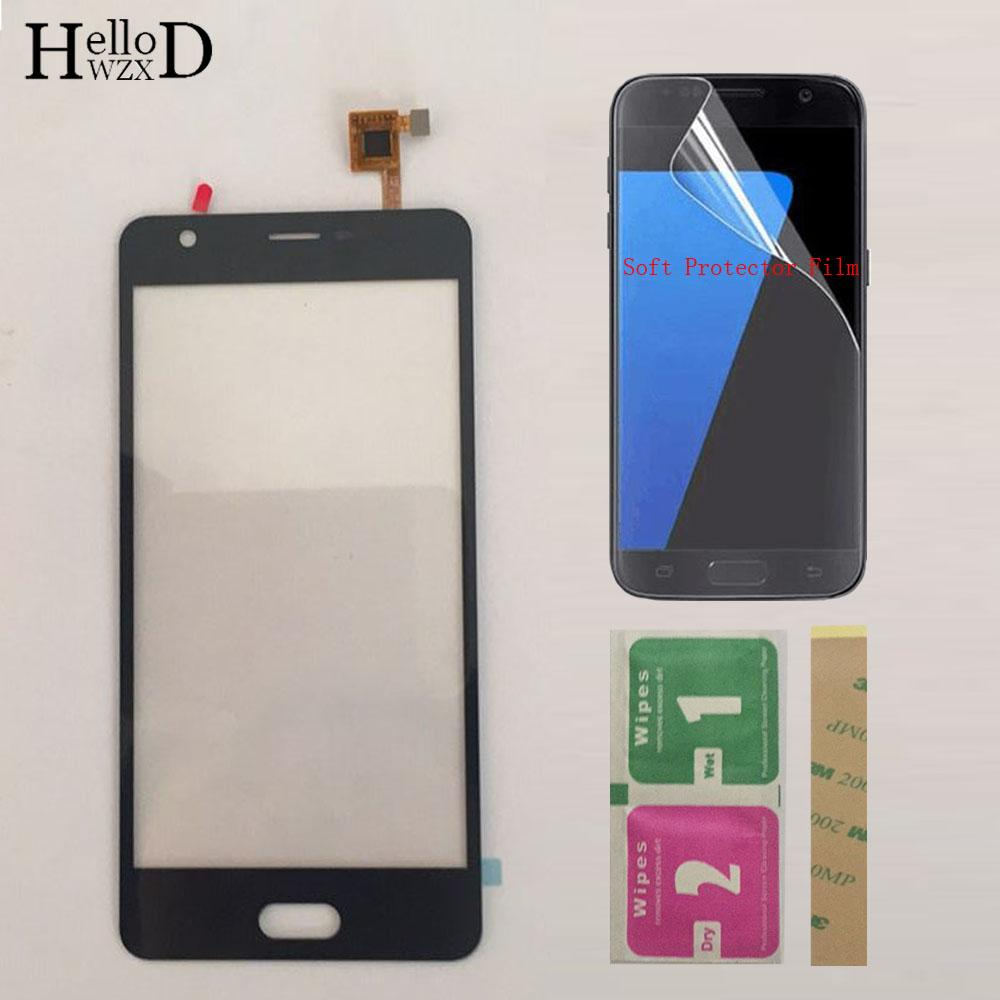 Touch Screen Digitizer Panel For Doogee X20 Touch Screen Digitizer Sensor  Front Glass Panel Sensor Protector Film