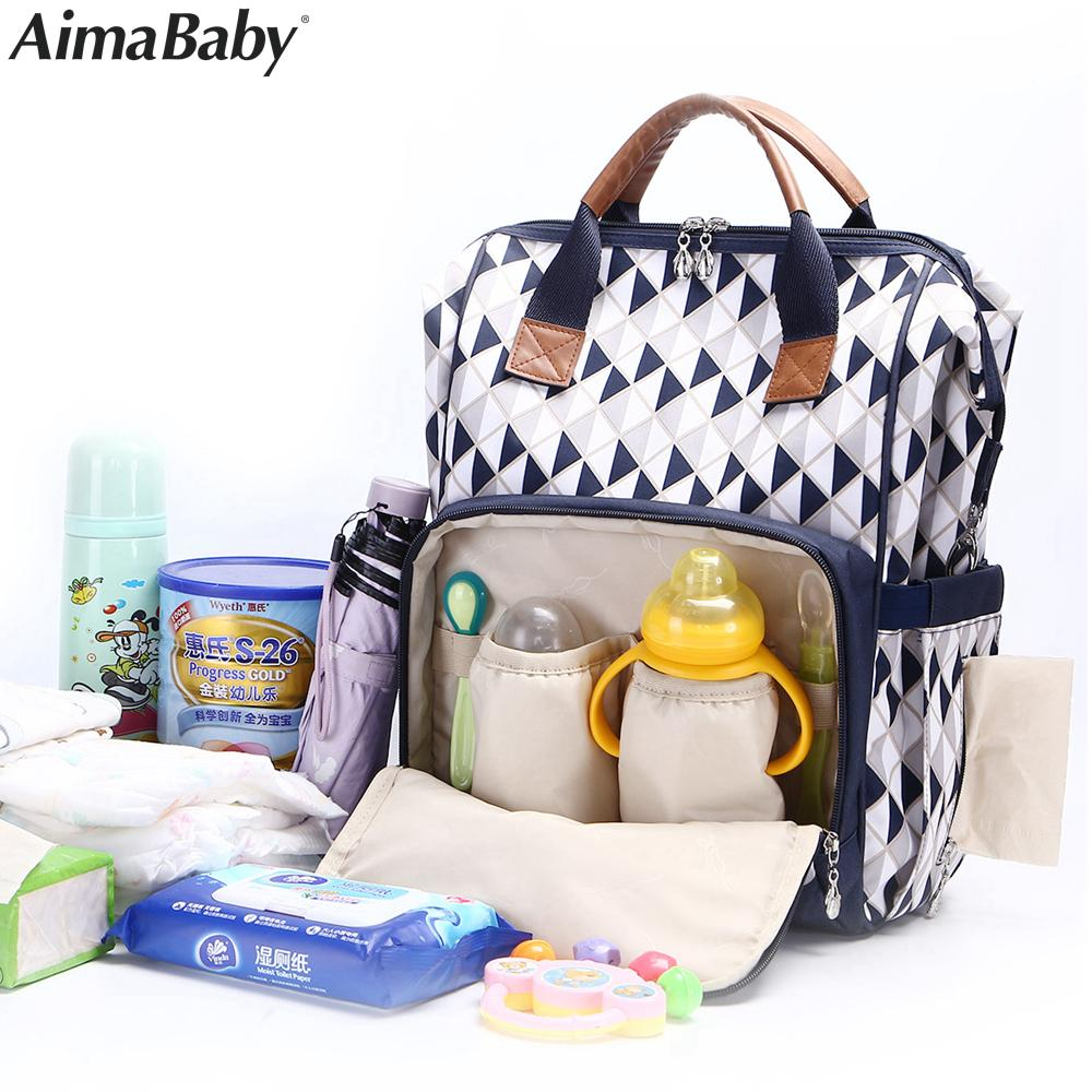 0e1e8e8cb2b7c 2019 Luiertas Baby Travel Fashion Mummy Maternity Changing Diaper Nappy  Stroller Bag Backpack Organizer Nursing Bags Mochila Maternal From Laurul