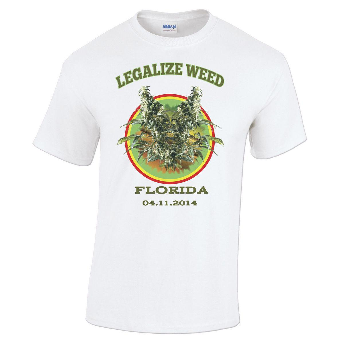 High Quality T Shirt Legaliser It Florida Pour Hommes Fromage Zoot