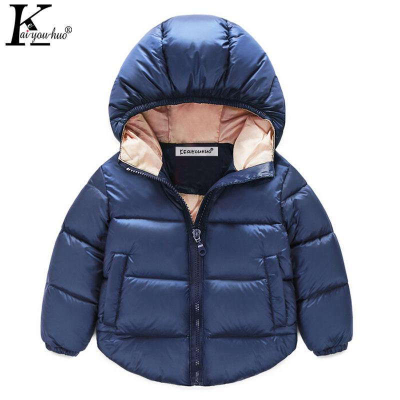 2017 Winter Girls Coats High Quality Boys Jacket Hooded Kids Outerwear Clothing Baby Boy Coat Children Jackets For Girls Clothes