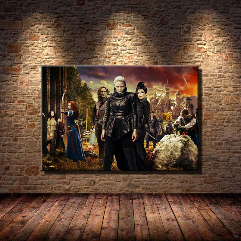 2019 Once Upon A Time Season 5 Poster 1Home Decor HD Printed Modern Art Painting On Canvas Unframed Framed From Q652398773 704