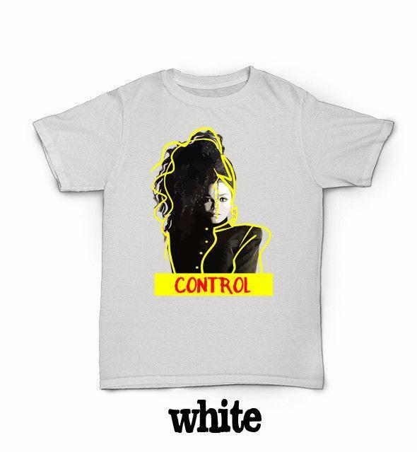 5fed8b63 Control Janet Jackson T Shirt 90'S R&B World Tour Rhythm Nation Escapade T  Shirt Awesome Popular T Shirt From Linnan00007, $14.67| DHgate.Com