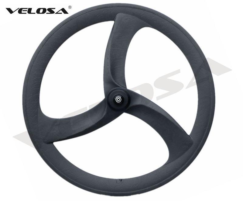 b2e6b0aaab6 2018 NEW Tri Spoke 3 Spoke Carbon Wheel