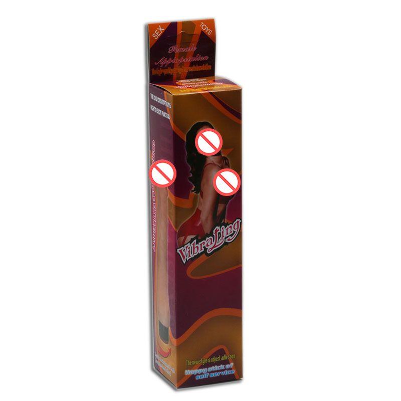 Dildo Vibrator Shock Stick Single Vibrating Artificial Penis Body Massager Adult Sex Toys for Women Female Masturbation