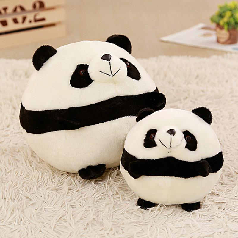 2019 17 40cm Cute Baby Big Giant Panda Bear Plush Stuffed Animal