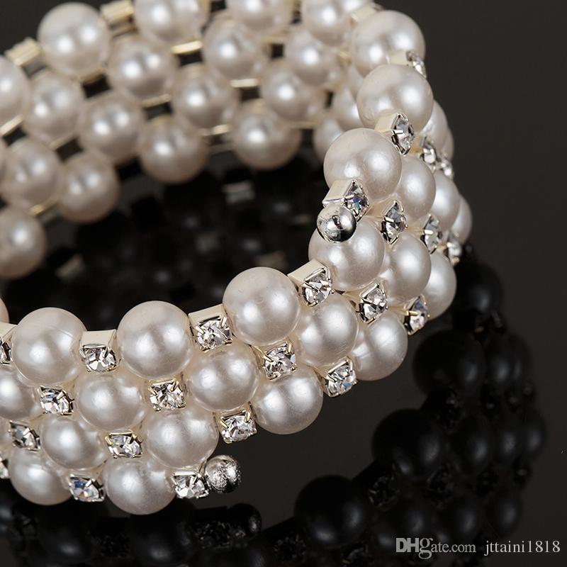 Novo Design de Moda Pulseiras De Cristal Pulseiras Presentes de Natal Para As Mulheres Moda Feminina Pulseira Elegante Jóias B010