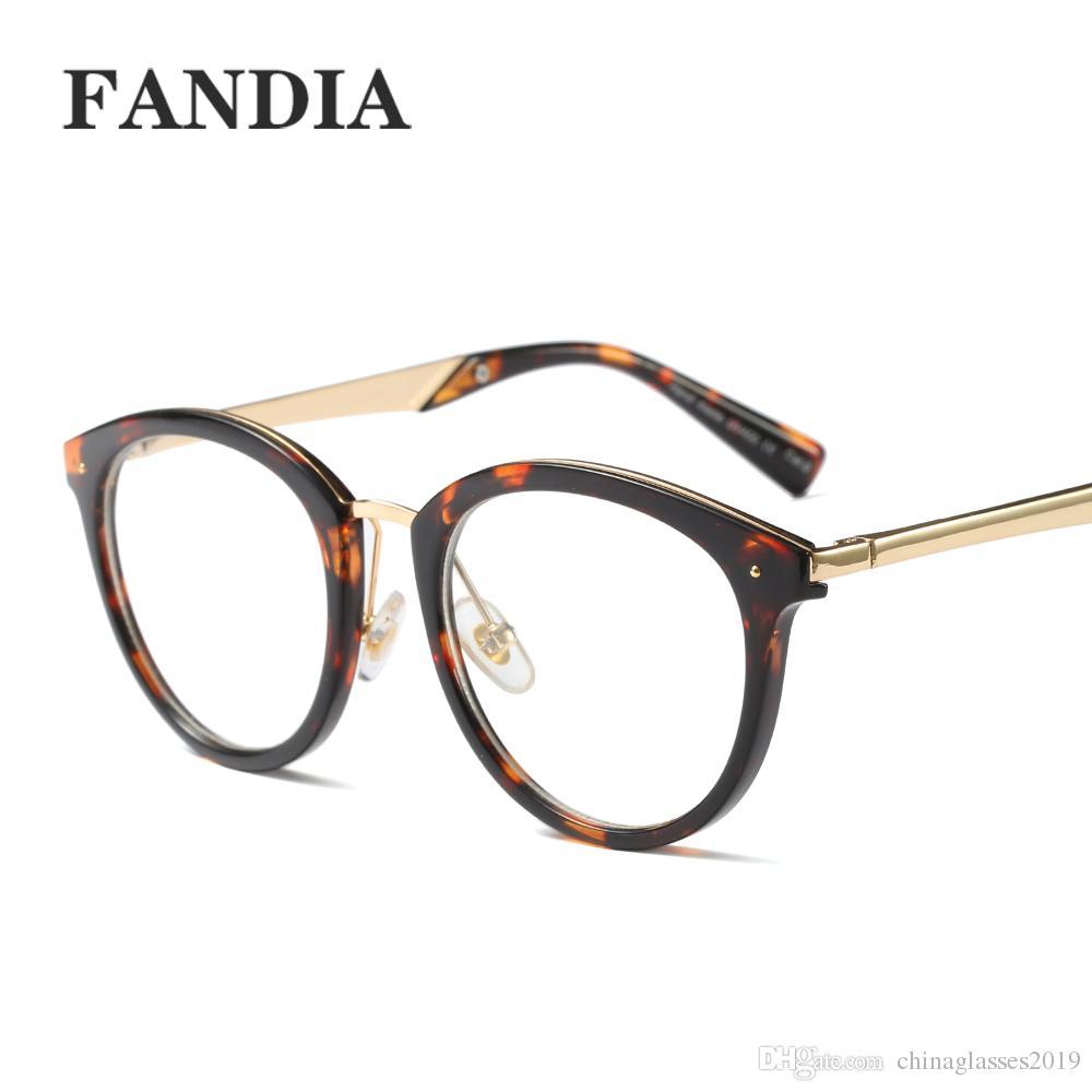58c88964ca52 Retro Small Round Sunglasses Men Male Retro Sunglass Women Hip Hop Gold Glasses  Eyewear Clear Lens Sunglasses FML Glass Frames Online Eyeglasses From ...