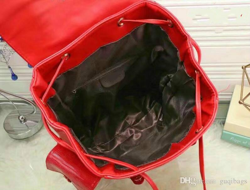 2018 Hot Sale hot New Arrival Fashion Women School Bags Hot Punk style Men Backpack designer Backpack PU Leather Lady Bags
