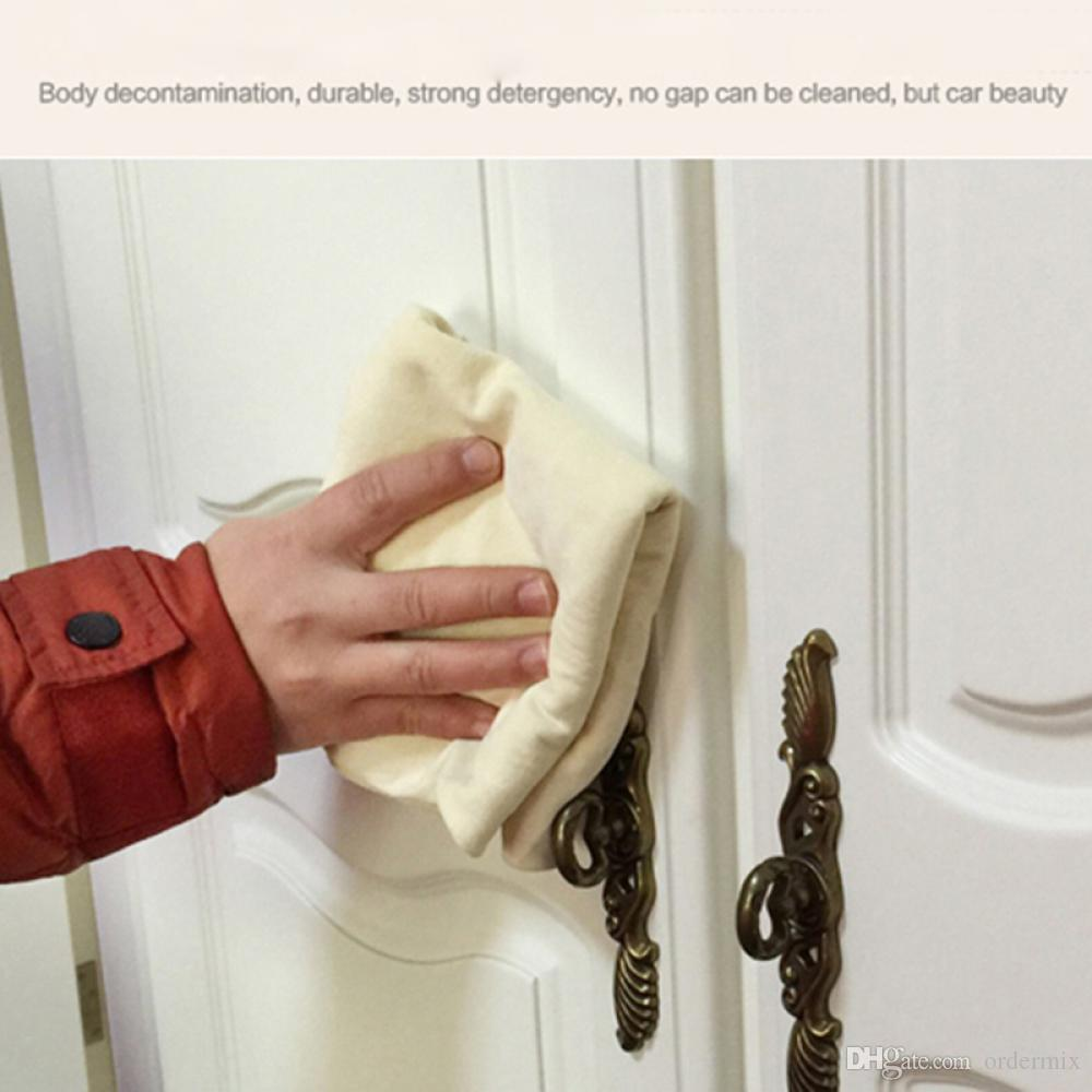 45 * 75 القادمون الجدد! شامواه جلد طبيعي سيارة تنظيف القماش غسل منشفة من جلد الغزال ماصة