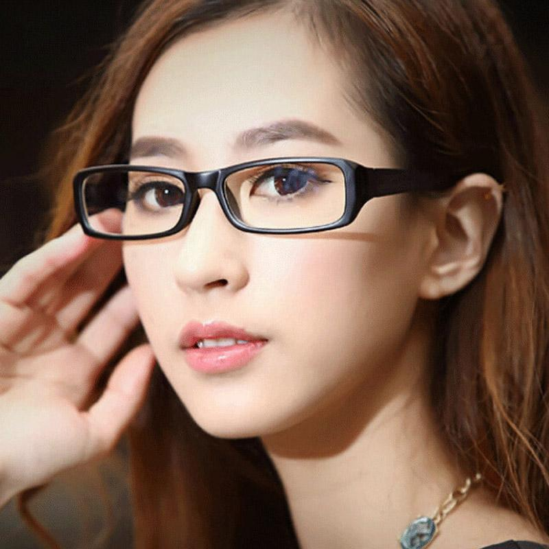 98eca62eff Compre Marcos De Gafas De Moda Para Mujeres Gafas De Ordenador De Cara  Pequeña Protección Contra La Radiación Gafas Antideslumbrantes Lentes  Transparentes ...