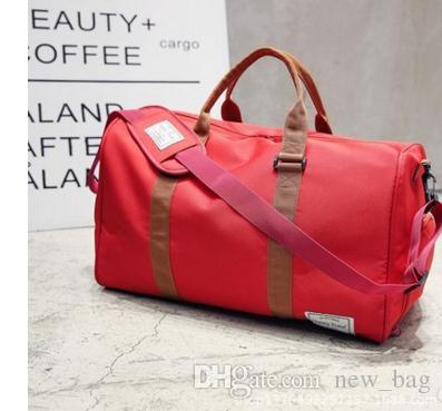 7d130bdd692 2017 New Fashion Women Travel Bag Duffle Bag, Brand Designer Luggage  Handbags Large Capacity Sport Bag 60CM Travel Bag Fashion Bag Duffle Bag  Online with ...