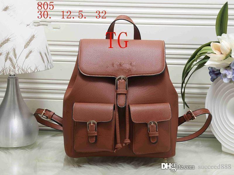 6975eaf37d 2018styles Handbag Famous Designer Brand Name Fashion Leather Handbags  Women Tote Shoulder Bags Lady Leather Handbags M Bags Purse 805 Running  Backpack ...
