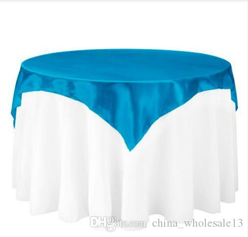 45x145cm Satin Fabric Tablecloth Table Cover Table Overlay Tableware Cover  Party Restaurant Banquet Hotel Wedding Decorationaei 025 90 Inch Round ...