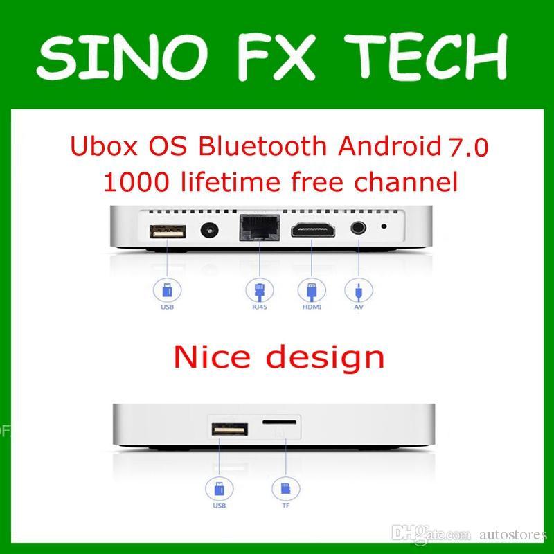 New Version Unblock Tech Ubox Pro Os Gen 5 Android 70 Tv Box