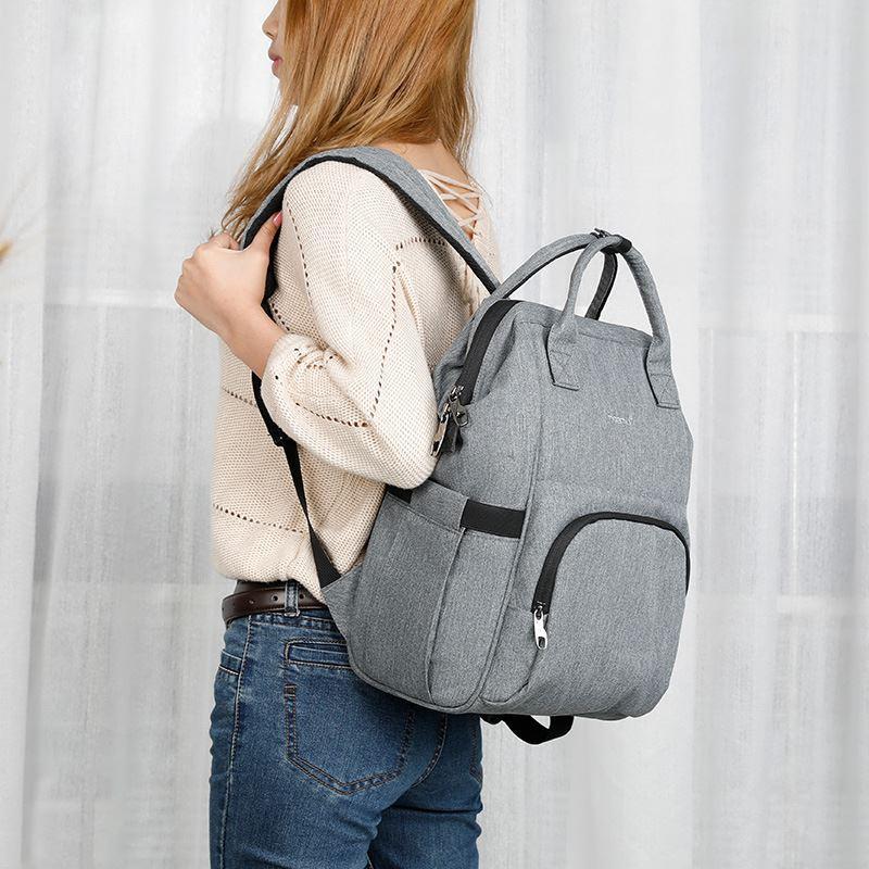 Tigernu Mommy Diaper Bag Large Capacity Baby Nappy Bags Nursing Bag Fashion  Travel Women Backpack Bag For Mom Dad Best Backpack Designer Backpacks From  ... 30f3cb3392f89