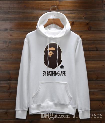 d19fa6dc34ff 2018 New Ape Monkey Hot Sale High Quality Men s Hooded Sweatshirts ...