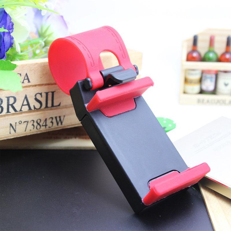 Soporte universal para coche Streeling Volante del volante Clip de SMART Clip de montaje en bicicleta para móvil iPhone samsung teléfono celular GPS OTH203