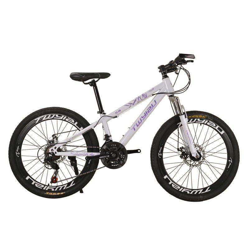 bf04a675d Compre Mountain Bike 24 Polegadas De Aço De 26 Polegadas Choque De Absorção  De 21 Velocidades De Liga De Alumínio Mountain Bikes Bicicleta De  Velocidade ...