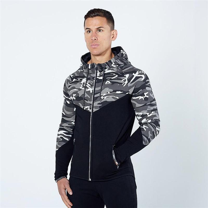 Casual Hip hop Hoodies jacket men-2